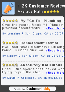 Review of Black Mountain Plumbing Inc