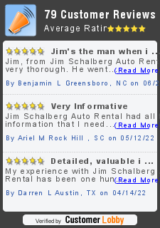 Review of Jim Schalberg Auto Rental Solutions