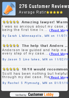 Reviews of Anderson Law