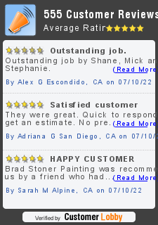 painting company review of Brad Stoner Painting