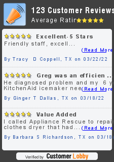 Review of Appliance Rescue Service