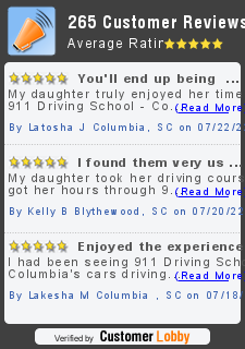 Review of 911 Driving School - Columbia