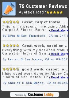 REVIEW OF ABBEY CARPET & FLOORS OF SAN MATEO