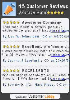 Review of ALL ABOUT FLOORS