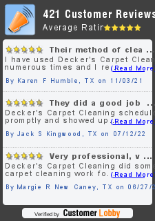 Review of Decker's Carpet Cleaning