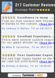 Review of Shower Doors of Dallas