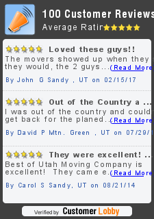 Review of Best of Utah Moving Company