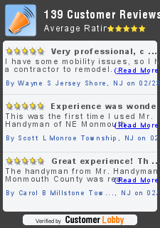 Review of Mr. Handyman of NE Monmouth County