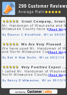 Review of Mr. Handyman of Waukesha and North Milwaukee County