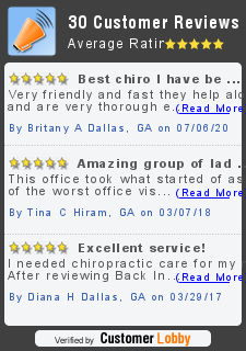 Review of Back In Line Chiropractic