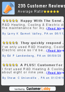 Review of R&D Heating and Cooling