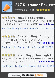 Review of A-Pro Home Inspection Denver