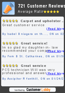 Review of PCS of Niagara - Professional Cleaning Specialists