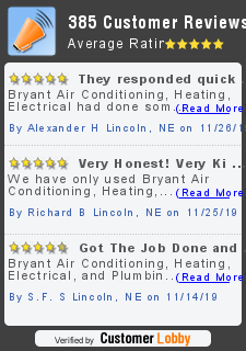 Review of Bryant Air Conditioning, Heating, Electrical and Plumbing