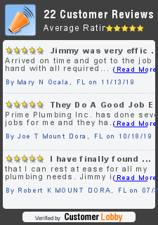 Review of Prime Plumbing Inc.