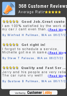 Review of Jerry's Auto Repair