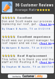 Review of HD Roofing and Repairs